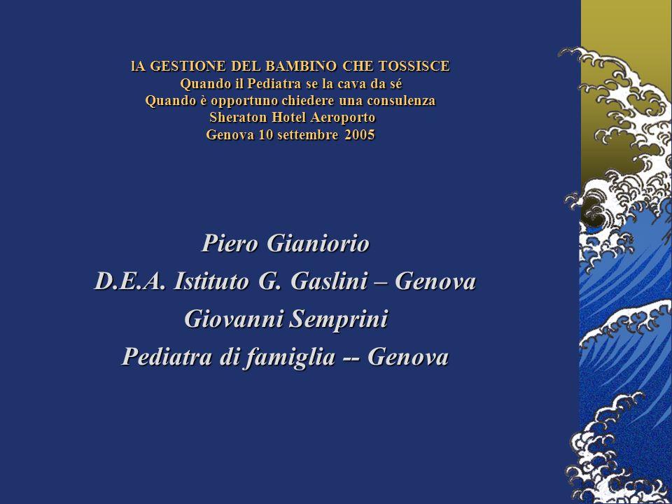 Piero Gianiorio D.E.A.Istituto G.