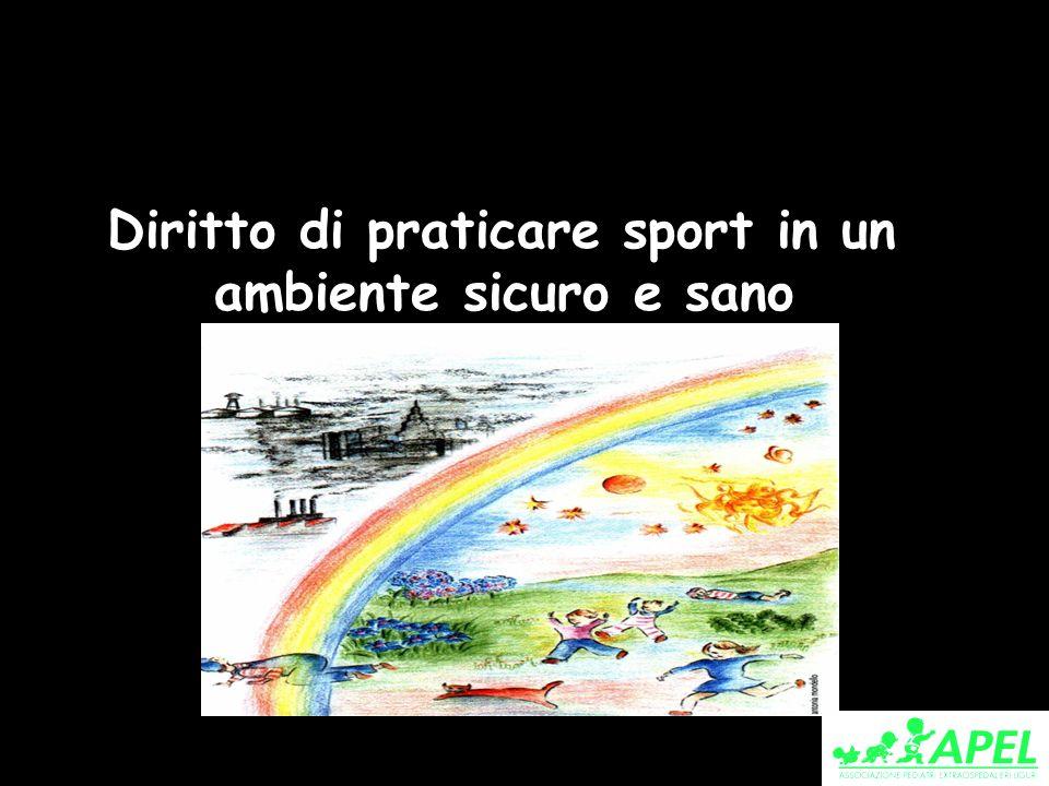 Diritto di praticare sport in un ambiente sicuro e sano