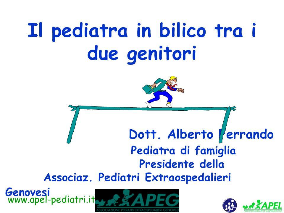 www.apel-pediatri.it Caso clinico Roberto 4 anni, sorellina, Anna di 2 anni. Genitori sposati da 7 anni Madre lavora a tempo parziale Roberto e Anna f