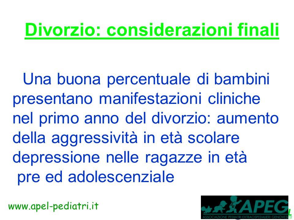 www.apel-pediatri.it Il pediatra dovrà essere più attivo nelle comunità e nelle scuole e collaborare con altre discipline e gruppi di supporto sociali