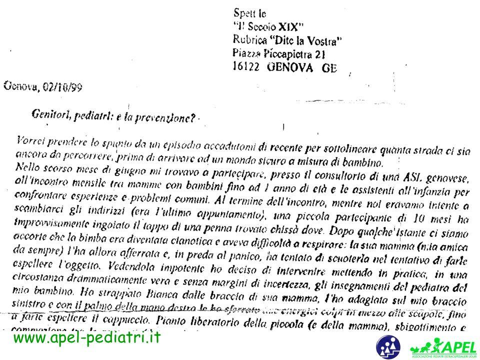 www.apel-pediatri.it clicca