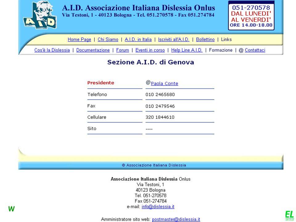 www.apel-pediatri.it Disturbi dellapprendimento: Disturbo della lettura DISLESSIA Disturbo dellespressione scritta Disturbo della compitazione Disturb