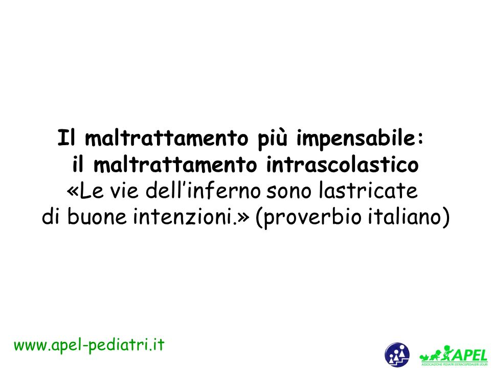 www.apel-pediatri.it C.