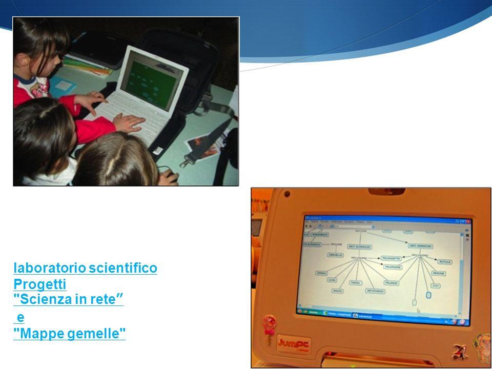 Slide allegate al libro laboratorio scientifico Progetti