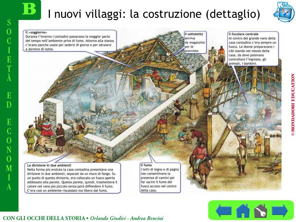I nuovi villaggi: la costruzione (dettaglio)