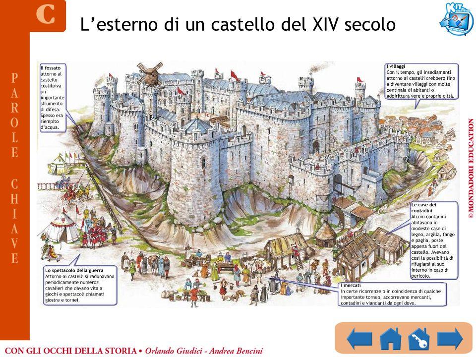 Lesterno di un castello del XIV secolo