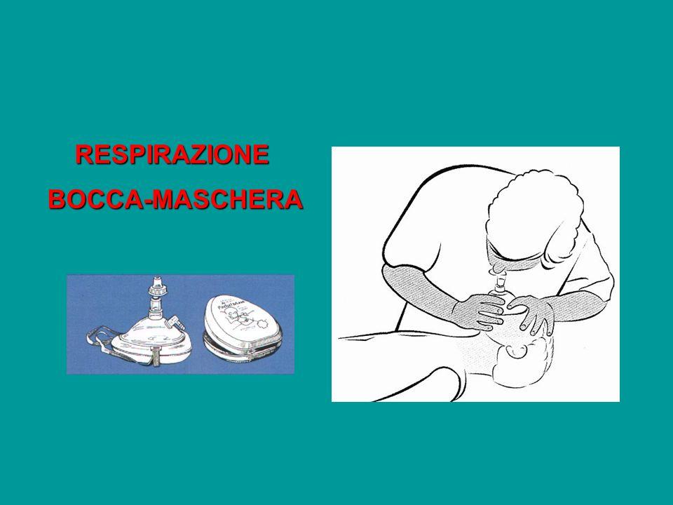 RESPIRAZIONE BOCCA-MASCHERA BOCCA-MASCHERA