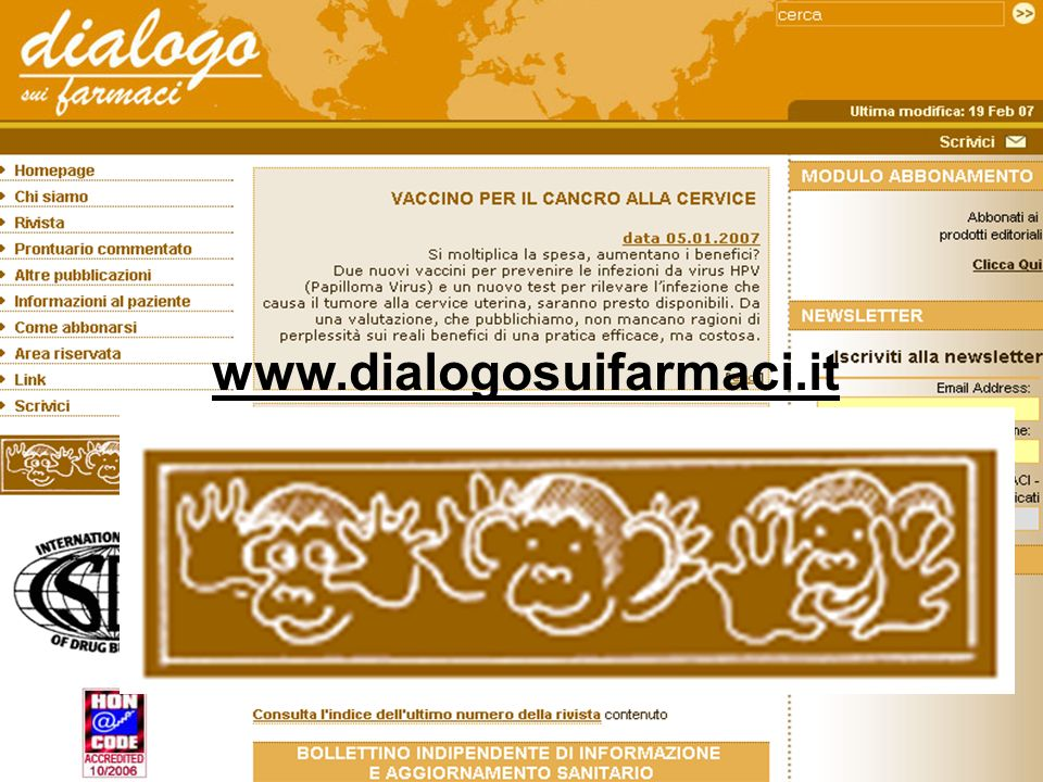 www.dialogosuifarmaci.it