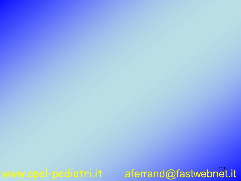www.apel-pediatri.it aferrand@fastwebnet.it 129