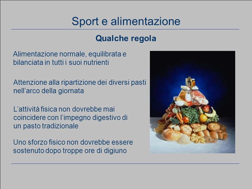 www.apel-pediatri.it aferrand@fastwebnet.it 17 Considerazioni generali Alimentazione normale, equilibrata e bilanciata in tutti i suoi nutrienti Atten