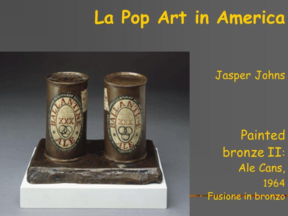 La Pop Art in America Jasper Johns Three flags, 1958 Olio su carta e tela