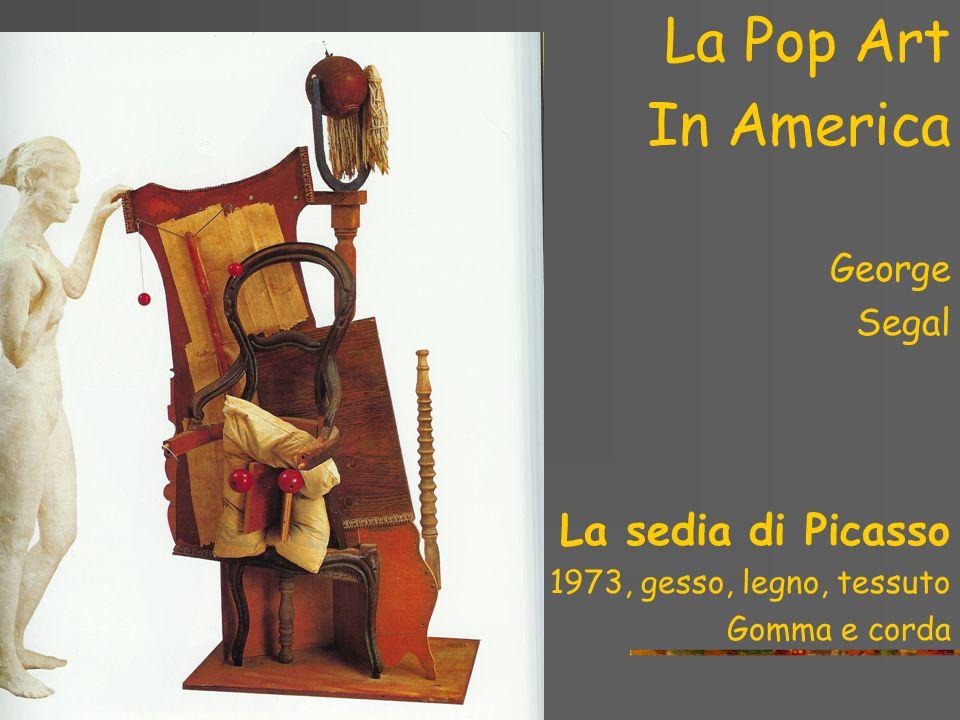 La Pop Art in America Claes Oldenburg Giant loaf of raisin bread, 1965 Vinile, Kapok, Liquitex e legno