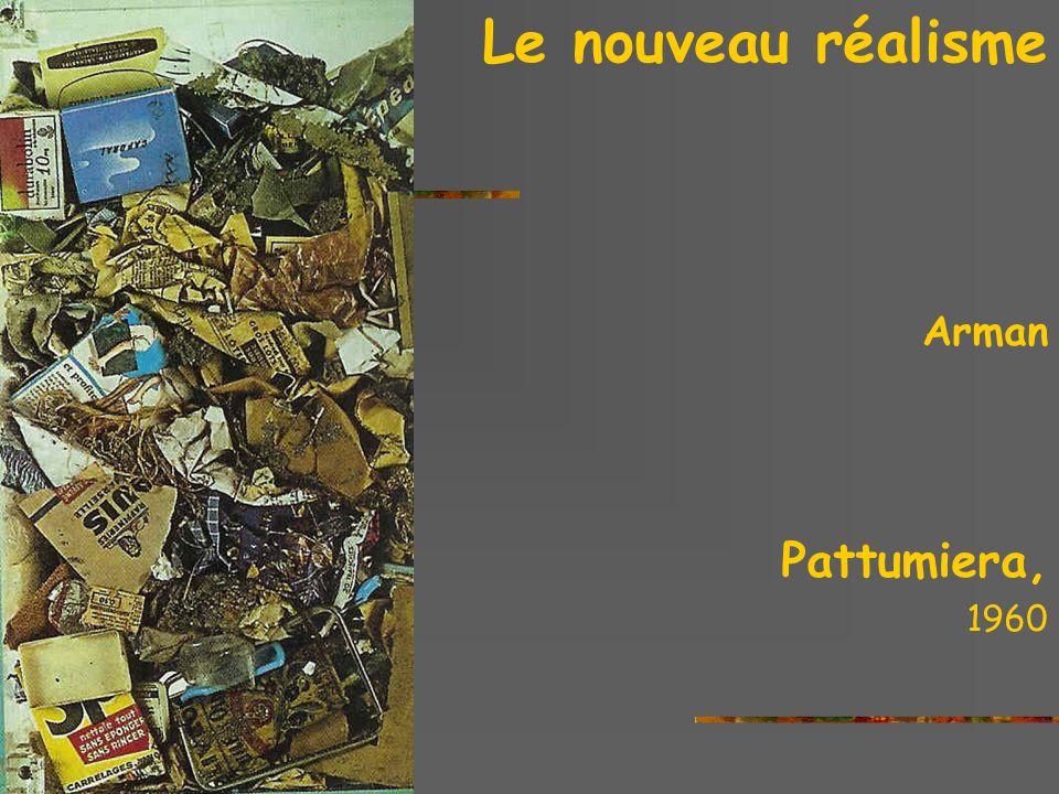 La critica delle nuoveavanguardie: le nouveau réalisme Christo Packed supermarket Cart, 1963