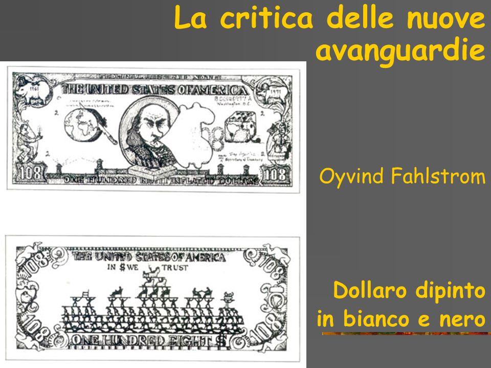 La critica delle nuove avanguardie Piero Manzoni Merda dartista, 1961