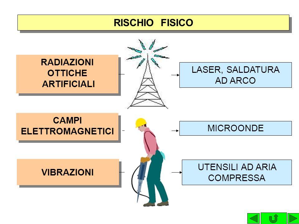 RISCHIO FISICO VIDEOTERMINALI DISTURBI OCULO-VISIVI DISTURBI MUSCOLO- SCHELETRICI