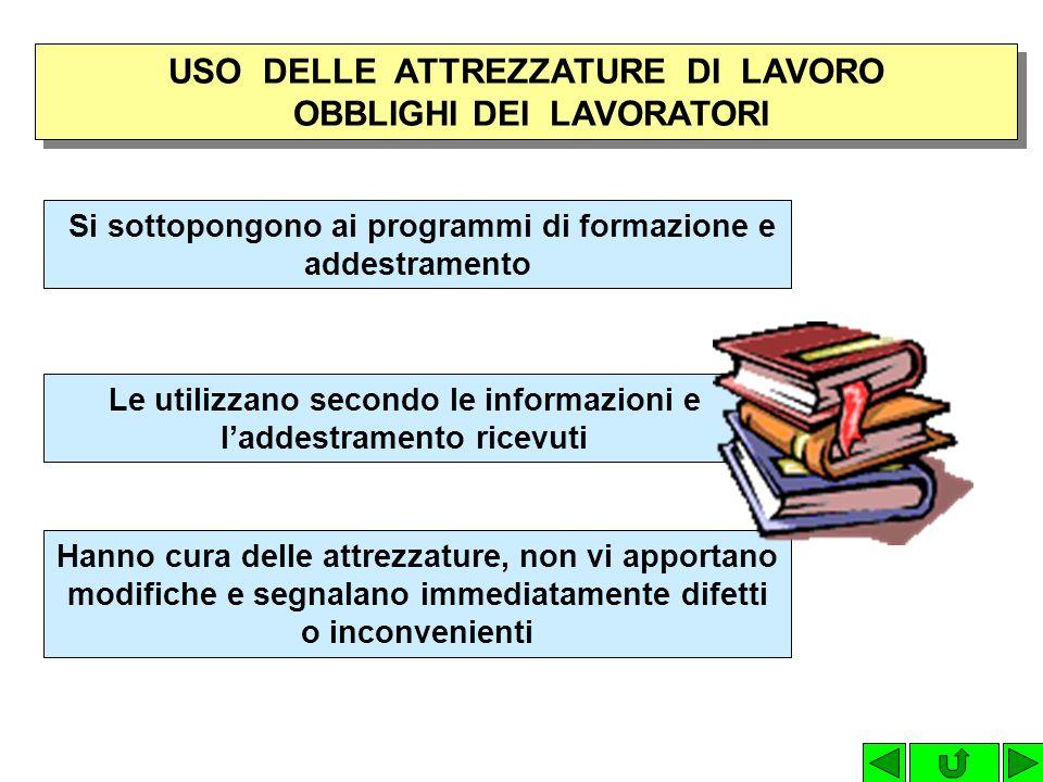 Insieme di azioni e/o interventi per la riduzione dei rischi negli ambienti di lavoro (es.