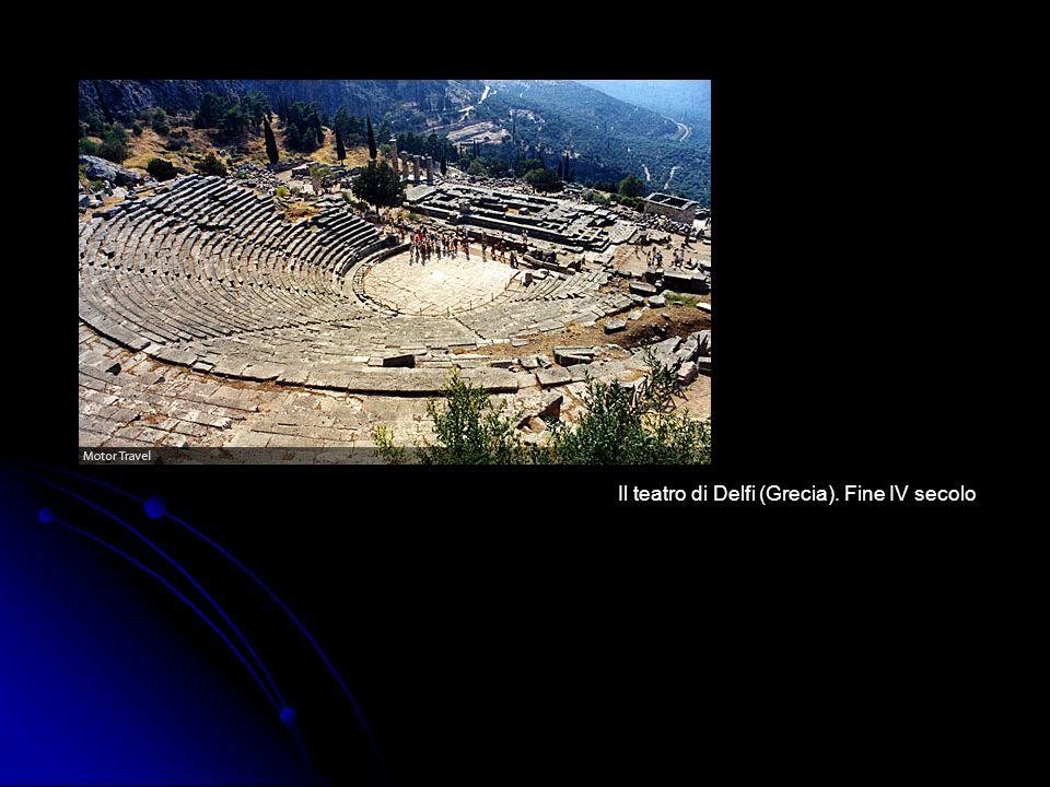 Il teatro di Delfi (Grecia). Fine IV secolo
