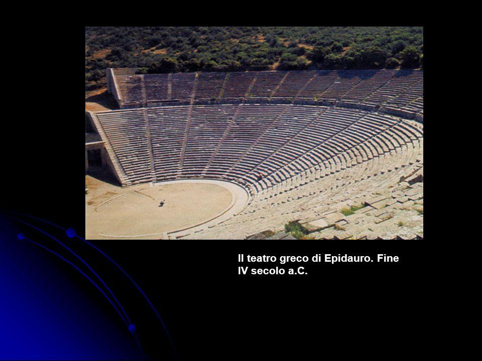 Il teatro greco di Epidauro. Fine IV secolo a.C.