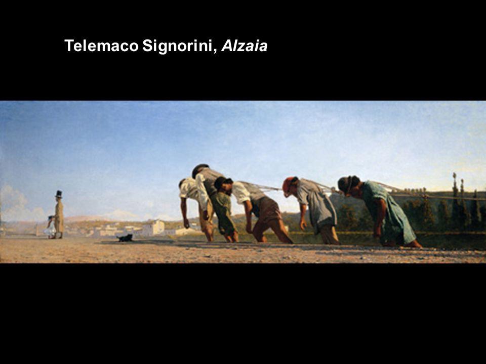 Telemaco Signorini, Alzaia