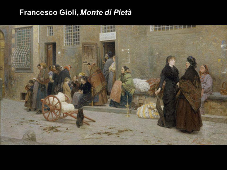 Francesco Gioli, Monte di Pietà