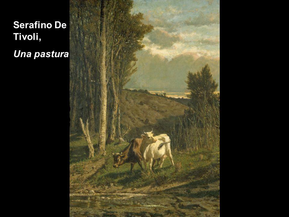 Serafino De Tivoli, Paesaggio