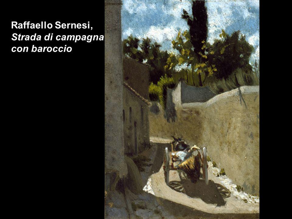 Giuseppe Abbati, Bimbi a Castiglioncello, olio su tavola di rovere, cm 11,5 x 37,5, coll. privata