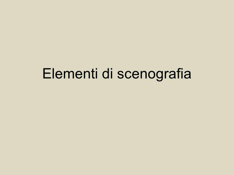 Elementi di scenografia