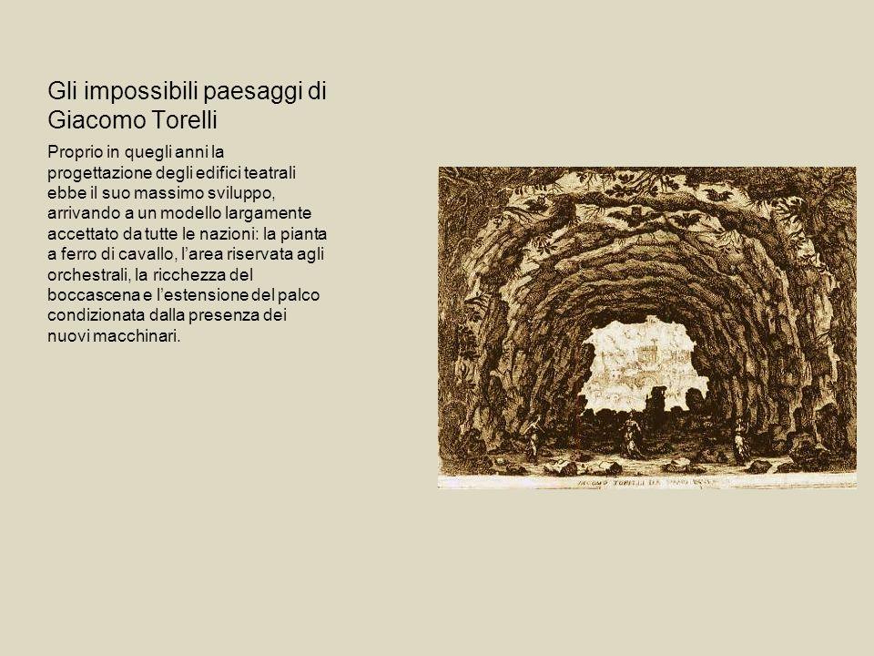Gli impossibili paesaggi di Giacomo Torelli Proprio in quegli anni la progettazione degli edifici teatrali ebbe il suo massimo sviluppo, arrivando a u