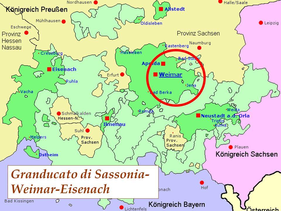 Granducato di Sassonia- Weimar-Eisenach