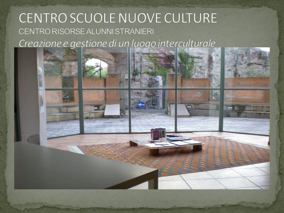 Centro Risorse Alunni Stranieri M.I.U.R. U.S.R. per la Liguria Laboratorio Migrazioni Comune di Genova 14
