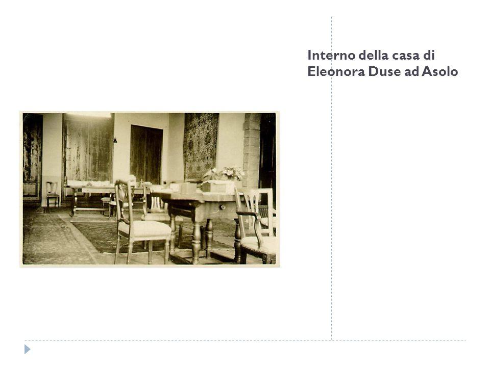 Lettera di Eleonora Duse a Ermete Zacconi, Torino, senza data ma aprile 1921, primo foglio Questa lettera scritta durante le prove per La donna del mare di Ibsen, che andrà in scena il 5 maggio 1921 al teatro Balbo di Torino, testimonia il tipo di lavoro che la Duse instaurava con i suoi attori – in questo caso si tratta di Zacconi – e che esigeva da se stessa.