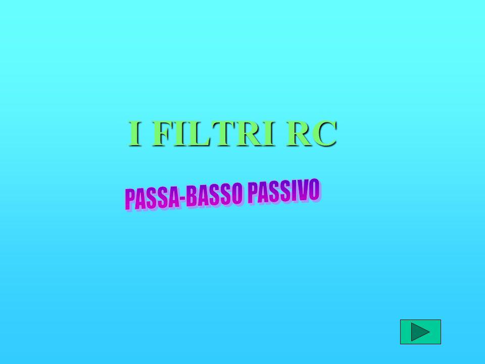 I FILTRI RC