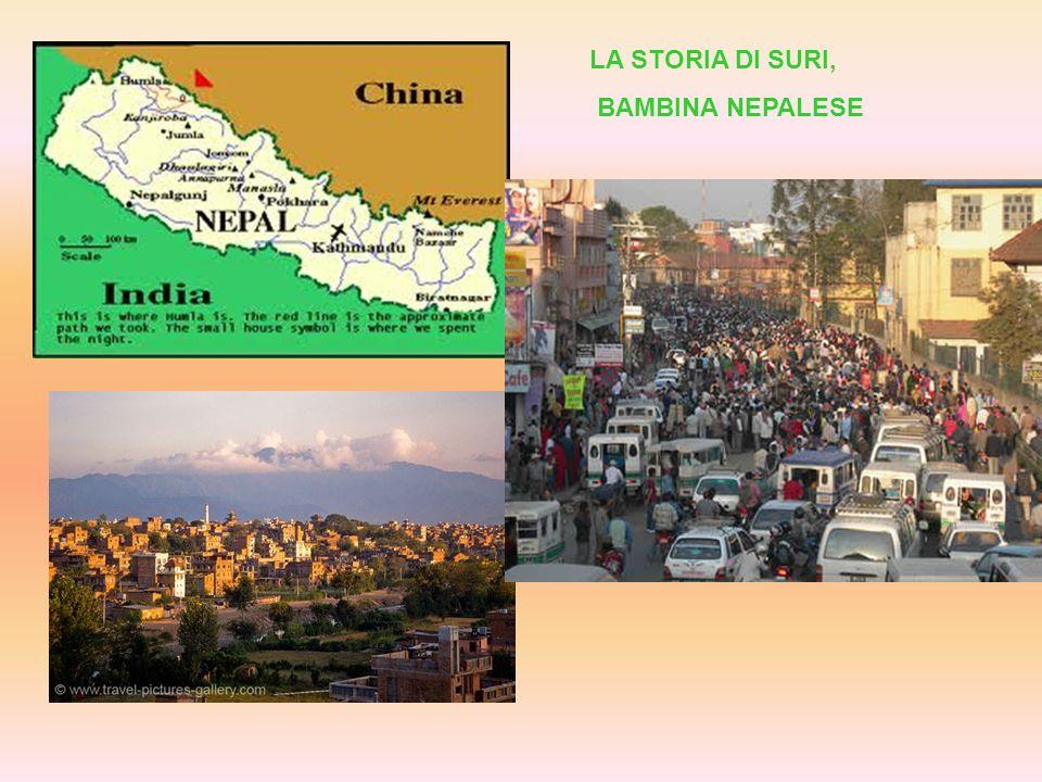 LA STORIA DI SURI, BAMBINA NEPALESE