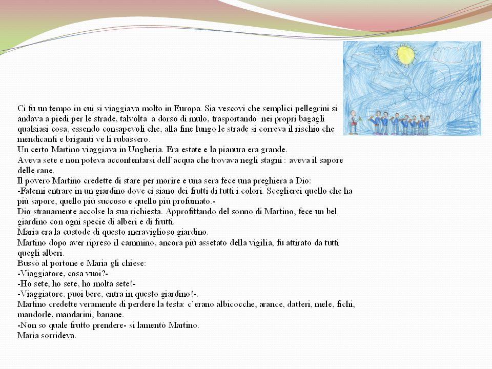 Le pere di San Martino e la 1^ A La nostra bibliotecaria, soprannominata GUFO LETTORE, lha tradotta e lha raccontata ai bambini della 1^ A. I bambini