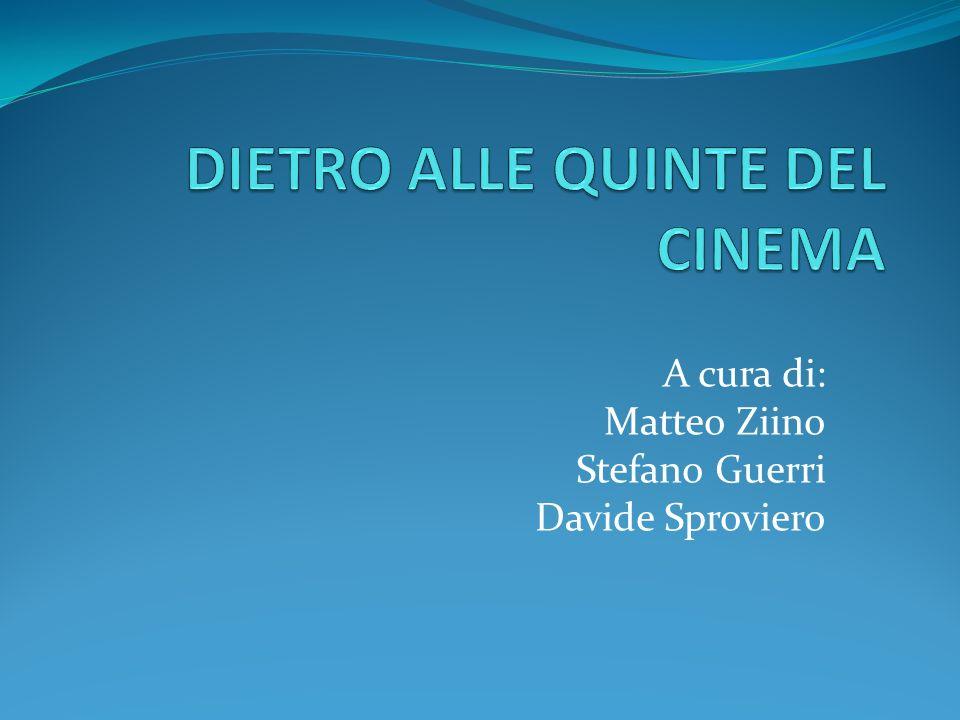 A cura di: Matteo Ziino Stefano Guerri Davide Sproviero