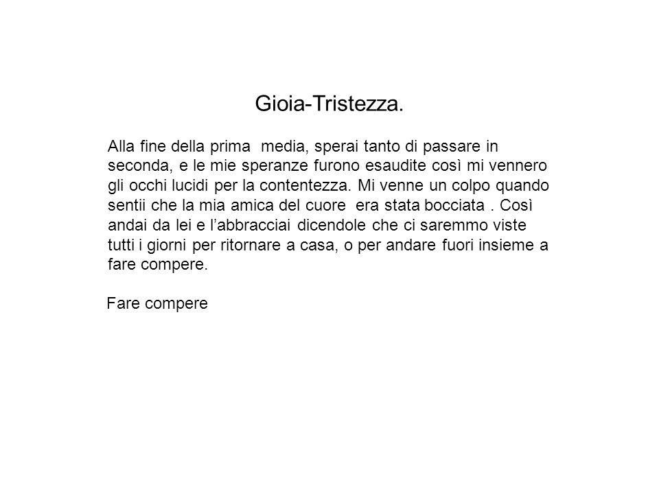 Gioia-Tristezza.