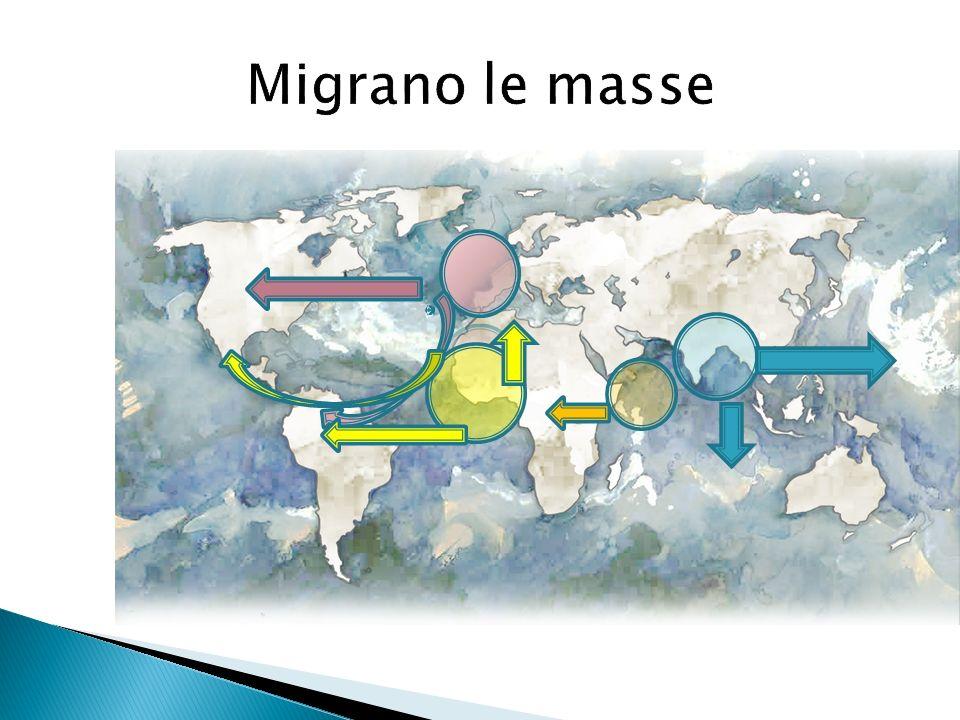 Migrano le masse