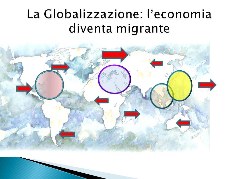 La Globalizzazione: leconomia diventa migrante