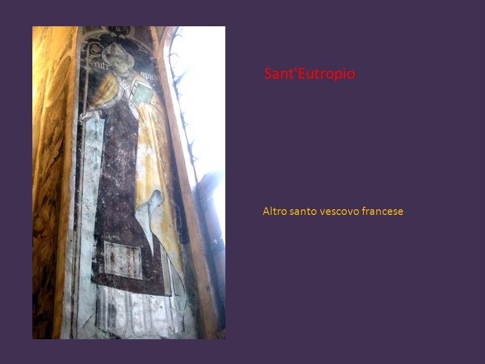 Sant Eutropio Altro santo vescovo francese