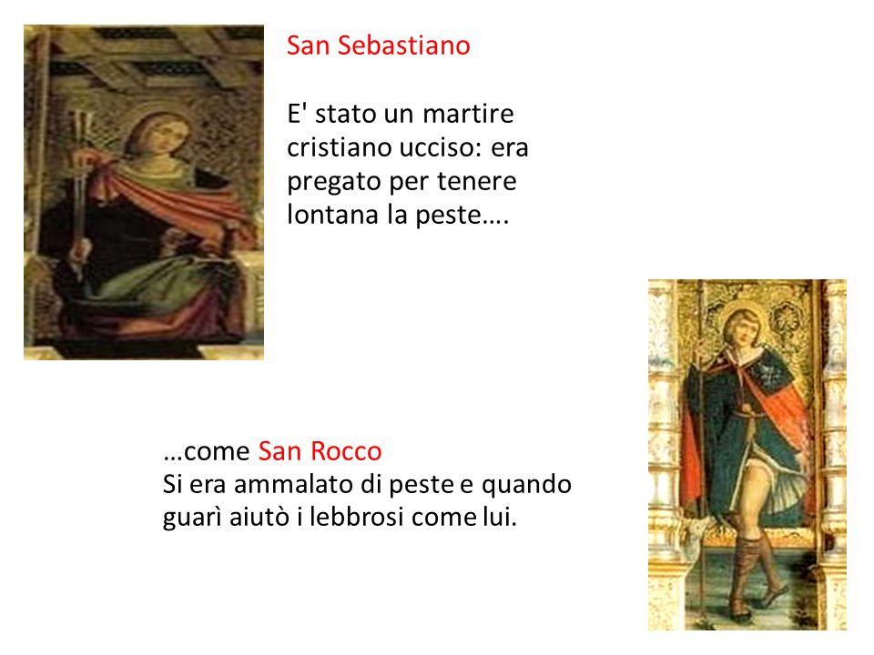 San Cristoforo La storia narra che portava le persone all altra sponda del fiume.