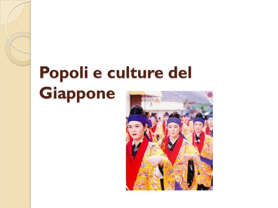 Popoli e culture del Giappone