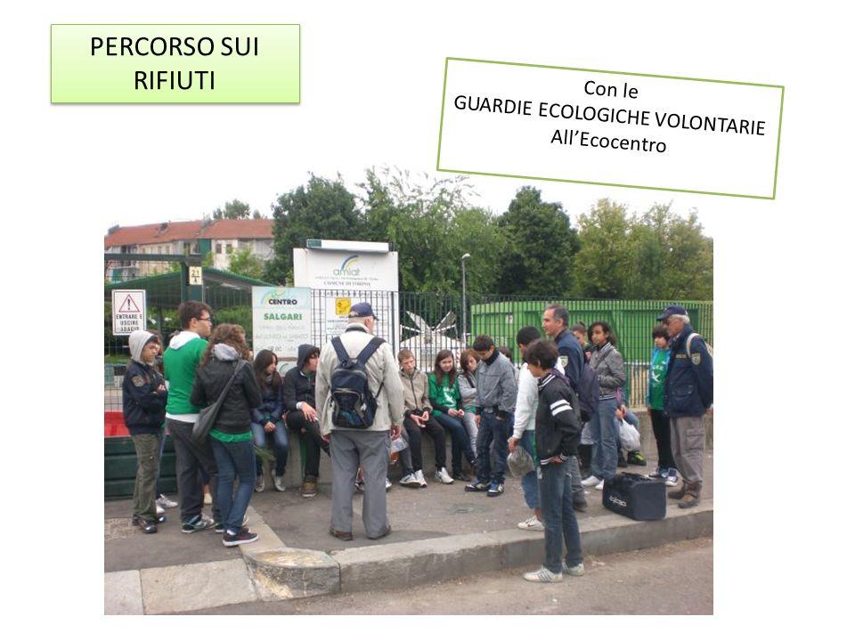 I rifiuti raccolti al parco della Colletta Noi vogliamo fare la differenza!
