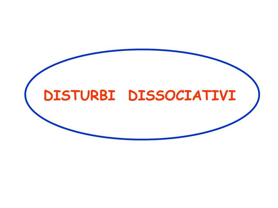 Disturbi Dissociativi e di Conversione (Psiconevrosi Isterica - Isteria) Termine scientificamente desueto, utilizzato nel linguaggio comune per denotare comportamenti stravaganti.