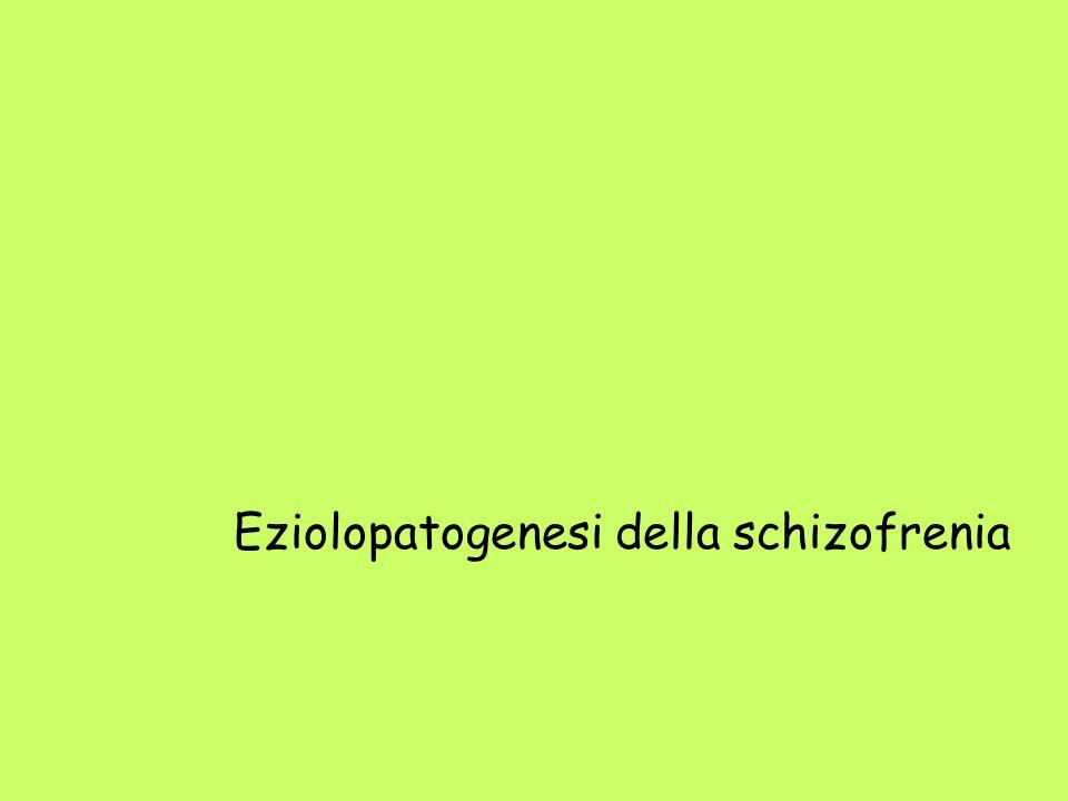 Eziolopatogenesi della schizofrenia