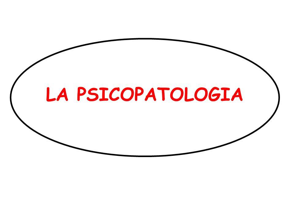 PSICOPATOLOGIA DESCRITTIVA Disturbi del Contenuto del Pensiero Le fobie complesse sono più elaborate.