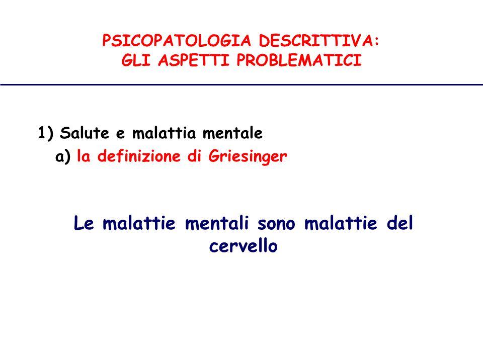 PSICOPATOLOGIA DESCRITTIVA Disturbi del Contenuto del Pensiero I pensieri fobici includono paure irrazionali.