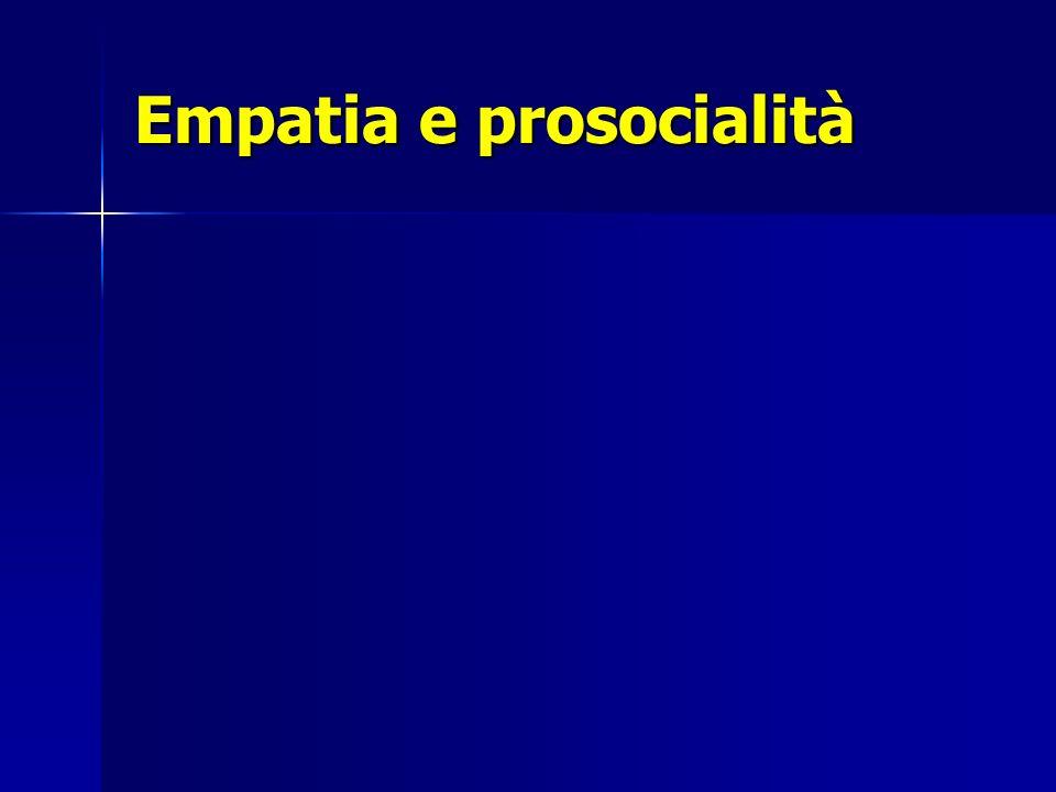 Empatia e prosocialità