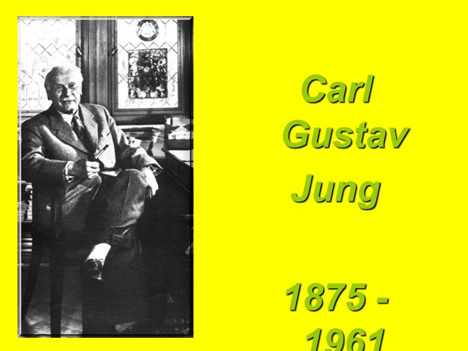 Carl Gustav Jung 1875 - 1961