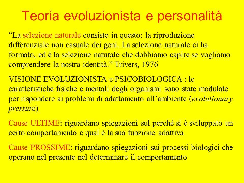 La selezione naturale consiste in questo: la riproduzione differenziale non casuale dei geni.