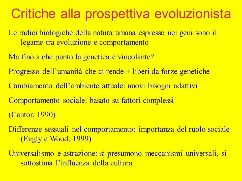 Le radici biologiche della natura umana espresse nei geni sono il legame tra evoluzione e comportamento Ma fino a che punto la genetica è vincolante.